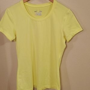 2/$20 NWOT UNDER ARMOUR FITTED T SHIRT (L)